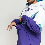 Mitchell & Ness NBA Half Zip Team Colour Anorak Charlotte Hornets fialová / bílá