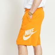 Nike M NSW HE Short FT Alumni oranžové