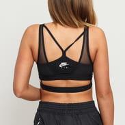 Nike Mesh Light Support Sports Bra černé
