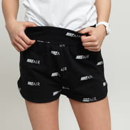 Nike W NSW Air Short AOP černé / bílé