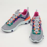 Nike W React Element 55 wolf grey / laser fuchsia