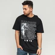 PLEASURES Industrial T-Shirt černé