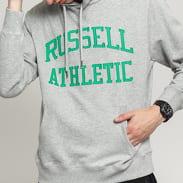 RUSSELL ATHLETIC Hoody Sweatshirt melange šedá