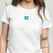 The North Face W SS Fine Tee bílé