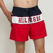 Tommy Hilfiger Medium Drawstring navy / bílé / červené