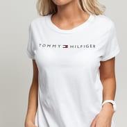 Tommy Hilfiger RN Tee SS Logo C/O biele