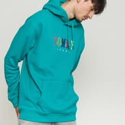 TOMMY JEANS M Graphic Hoodie zelená