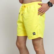 Urban Classics Block Swim Shorts neon žluté