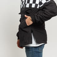 Urban Classics Check Pull Over Jacket schwarz / weiß
