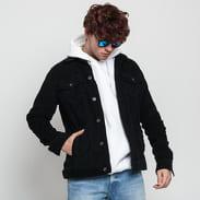 Urban Classics Curduroy Jacket černá