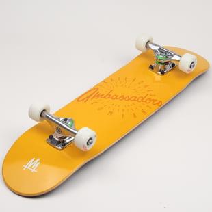 Ambassadors Komplet Skateboard Spin Yellow