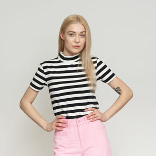 LAZY OAF Big Stripe Fitted Tee
