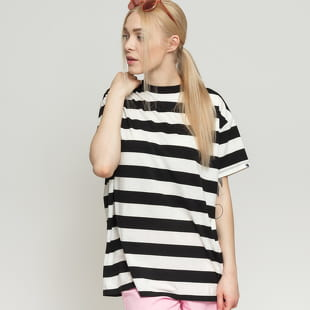 LAZY OAF Big Stripe Oversized Tee