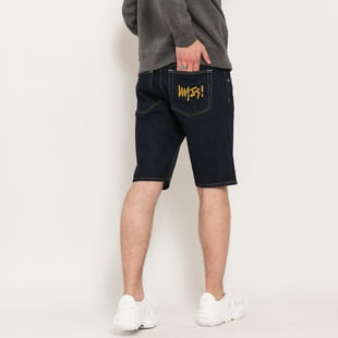 Mass DNM Signature Straight Fit Shorts Jeans