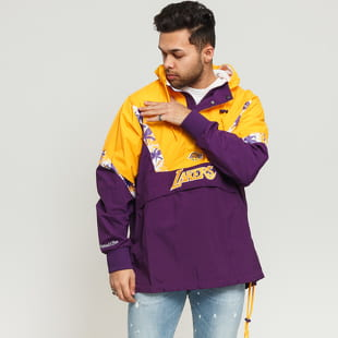 Mitchell & Ness NBA Half Zip Team Colour Anorak LA Lakers