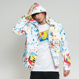 Pink Dolphin Race Wave Denim Jacket