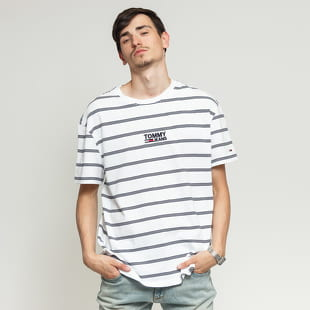 TOMMY JEANS M Signature Stripe Tee