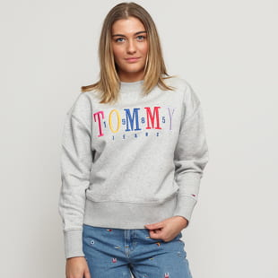 TOMMY JEANS W Multicolor Embroidery Crew