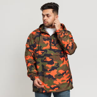 Urban Classics Camo Pull Over Windbreaker