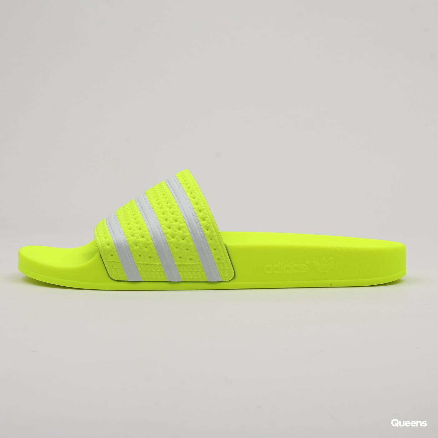 adidas Originals Adilette syello / ftwwht / syello