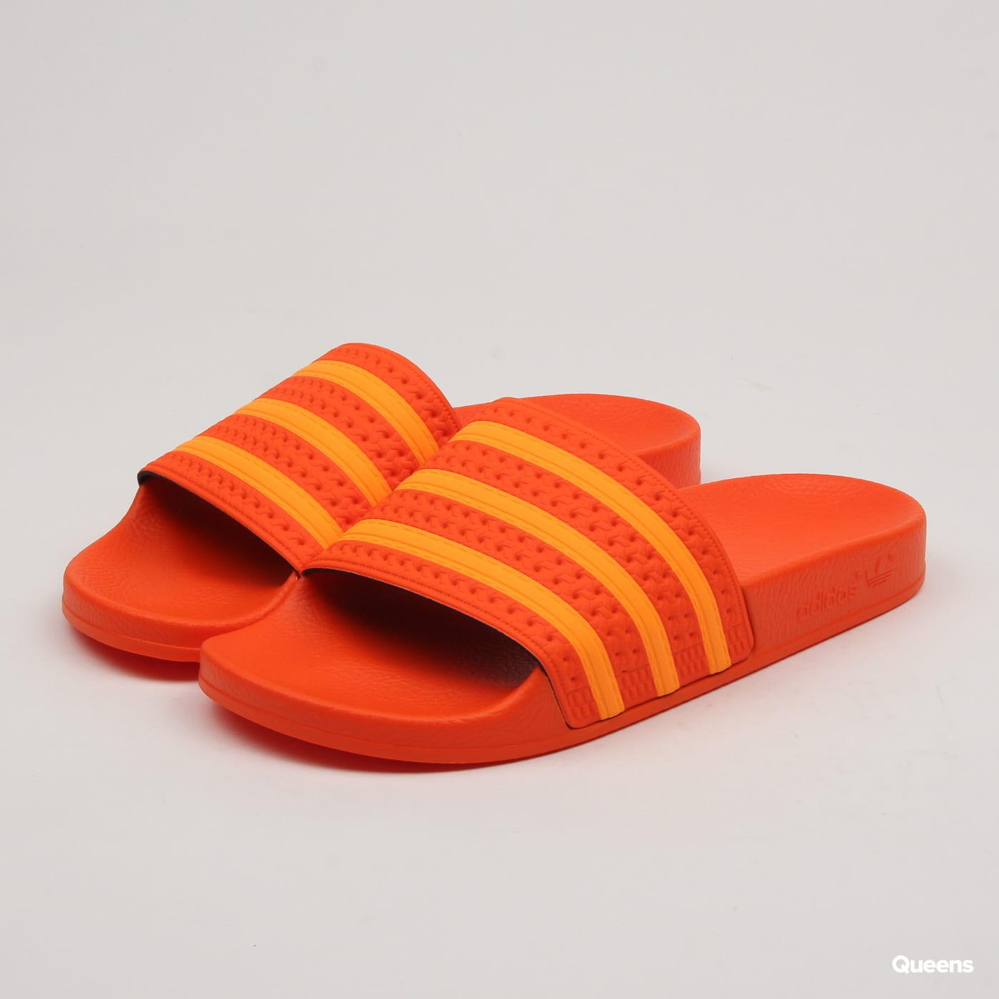 closer at super cute official store adidas Originals Adilette W orange / flaora / orange