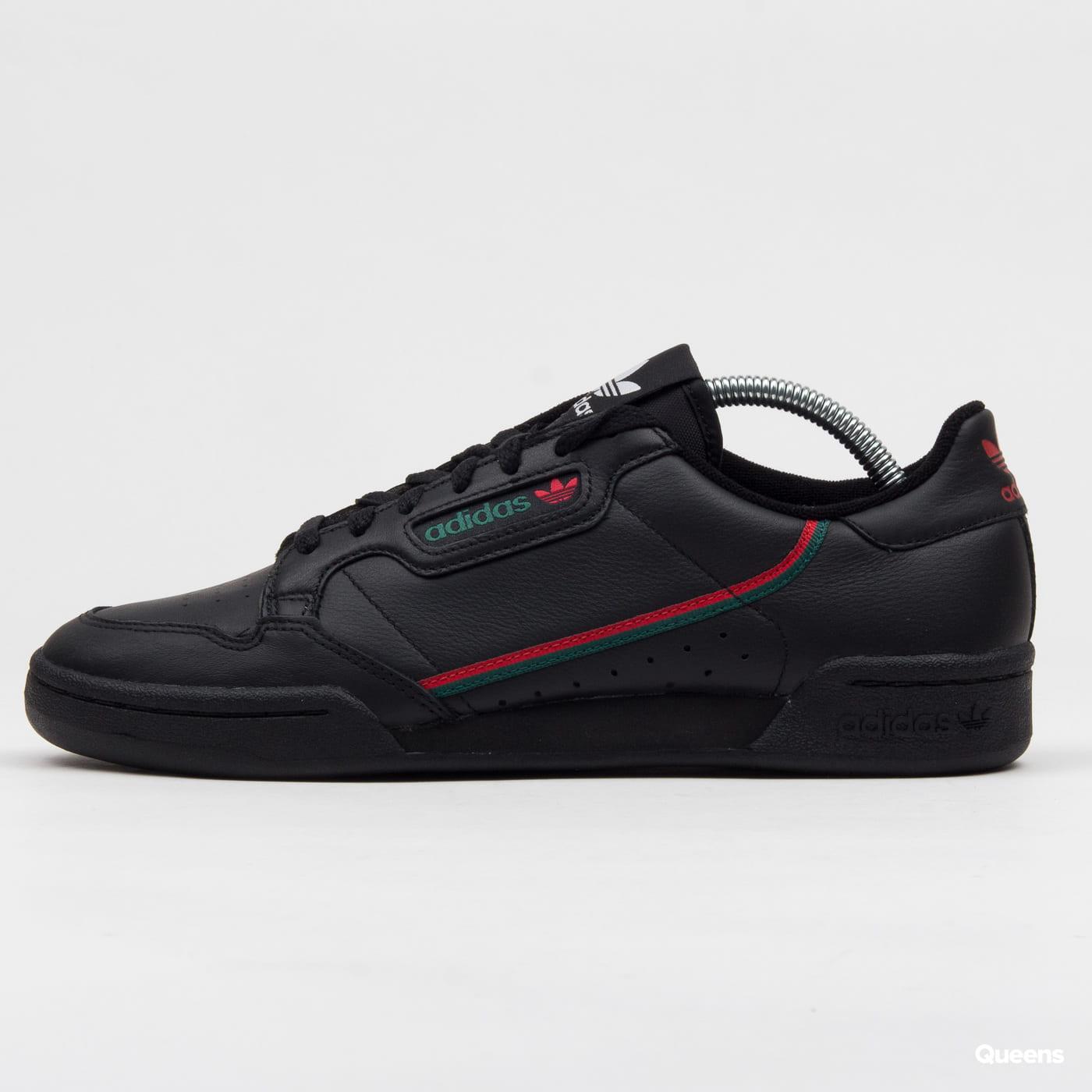 adidas Originals Continental 80 cblack / scarlet / cgreen