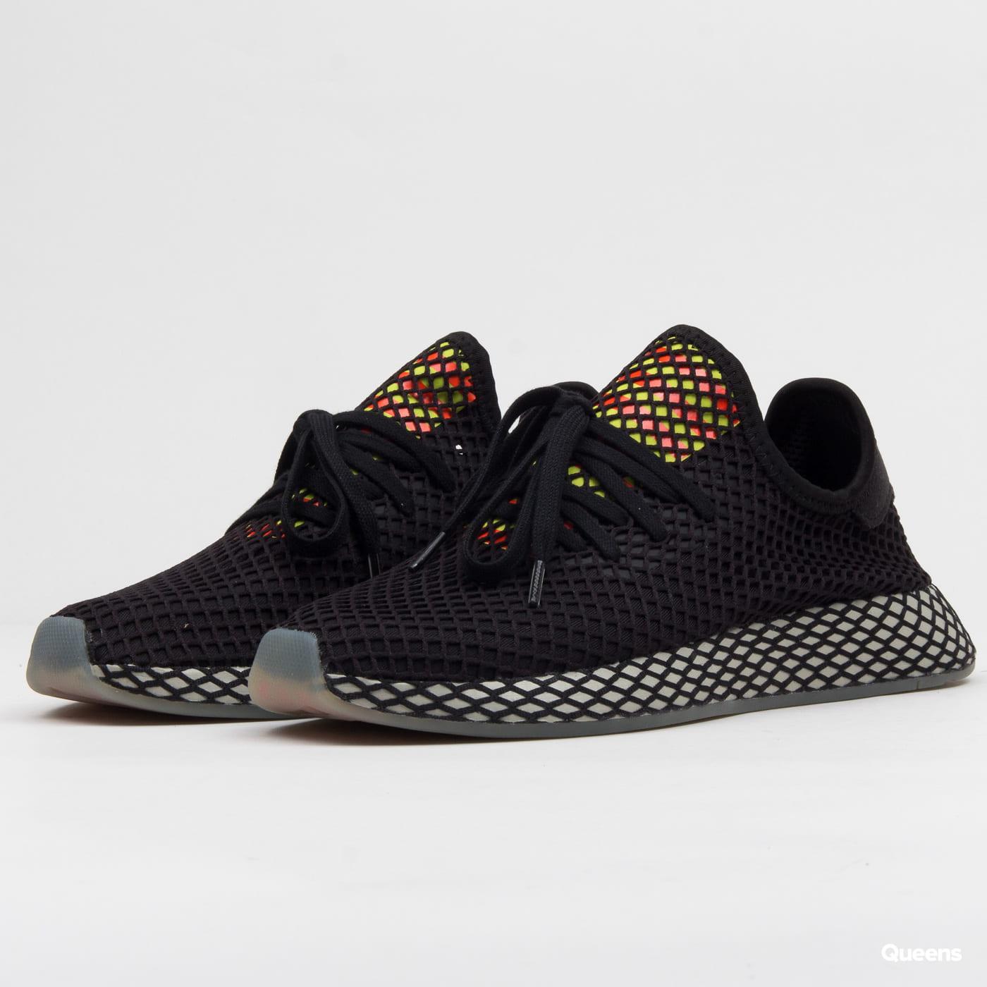 reputable site c134f 6982b adidas Originals Deerupt Runner cblack / sesame / solred