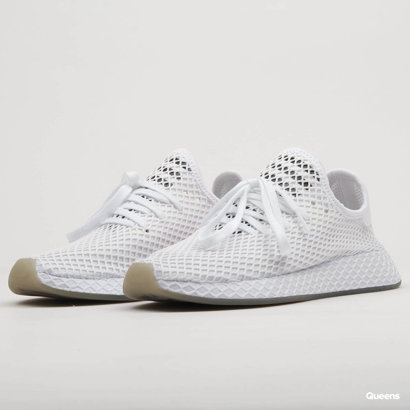 new design best service wholesale adidas Originals Deerupt Runner ftwwht / cblack / sesame