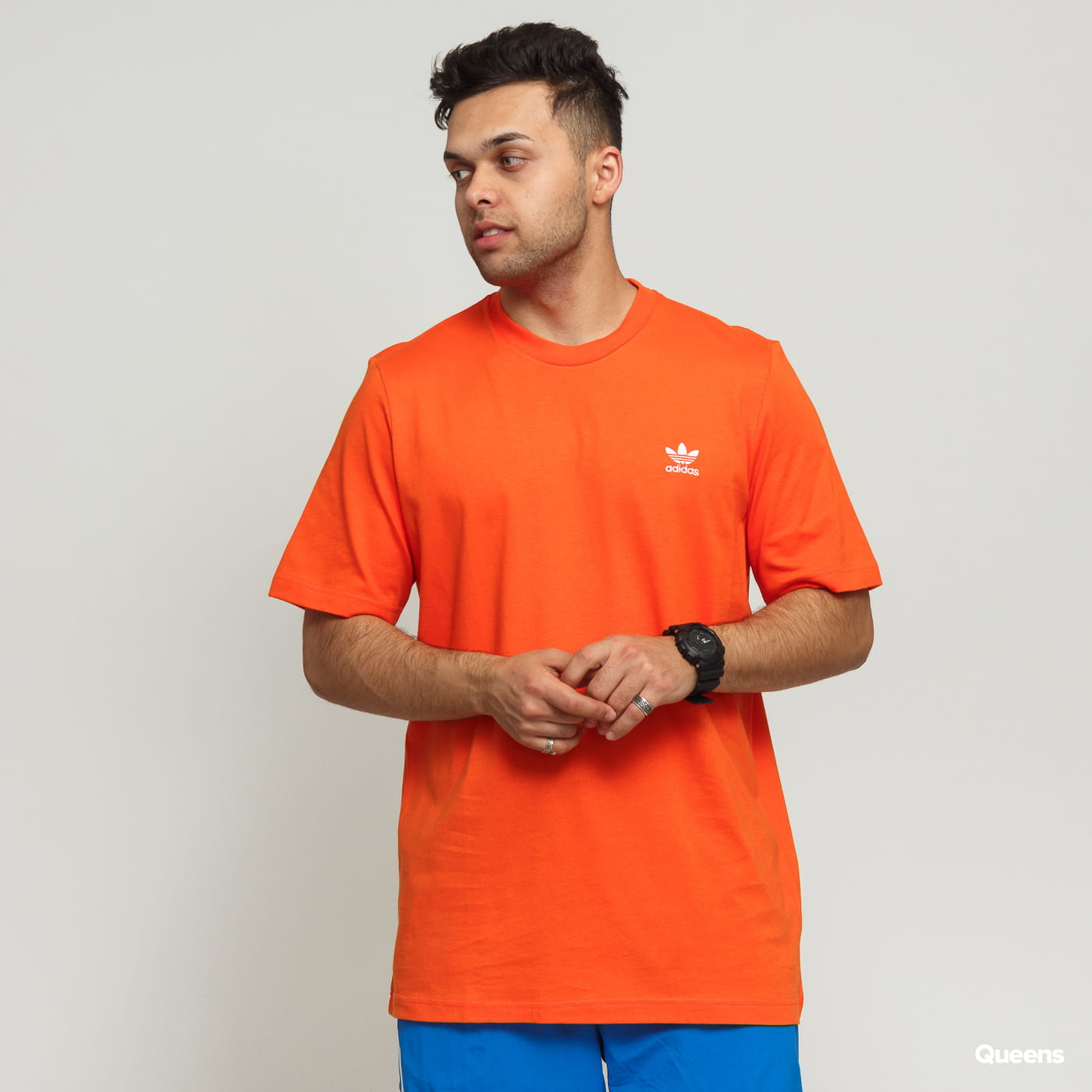 adidas originals t shirt orange