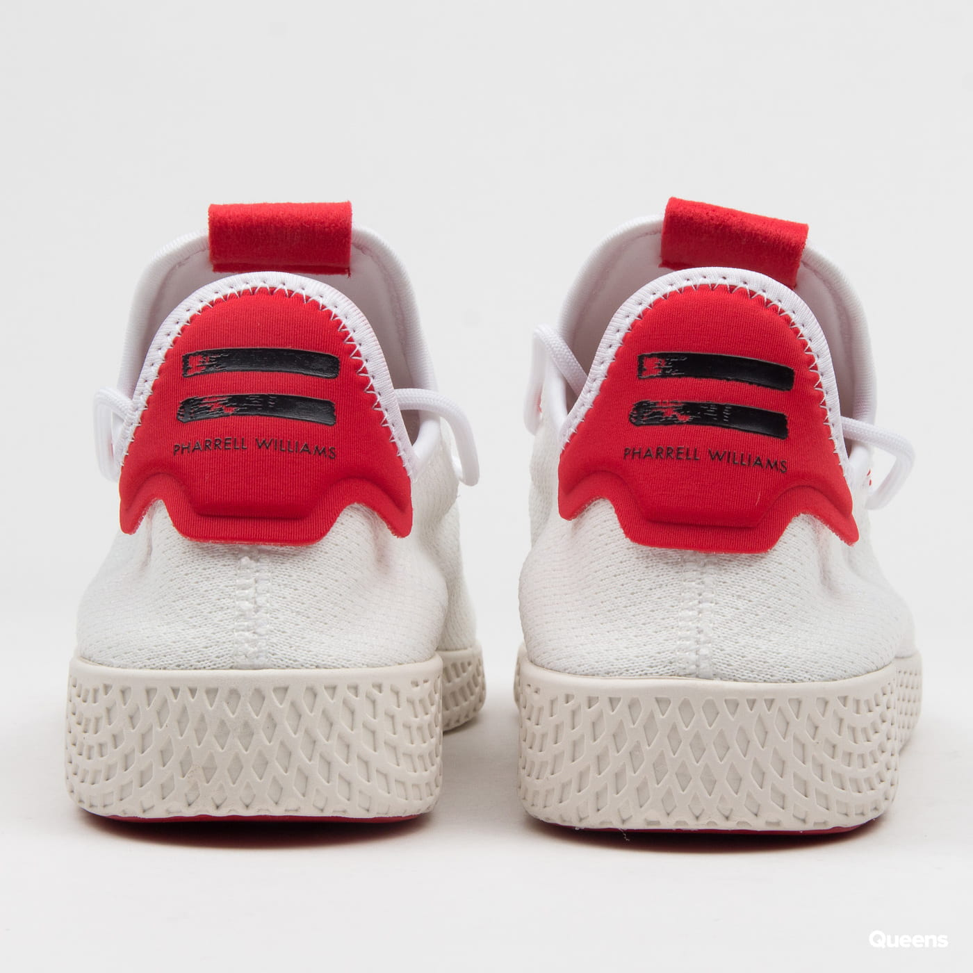 adidas Originals Pharrell Williams Tennis HU ftwwht / scarlet / cwhite