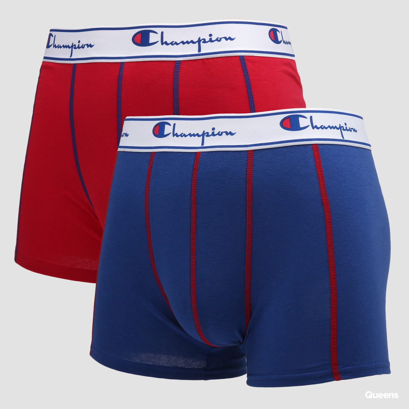 Champion 2 Pack Boxers red / blue