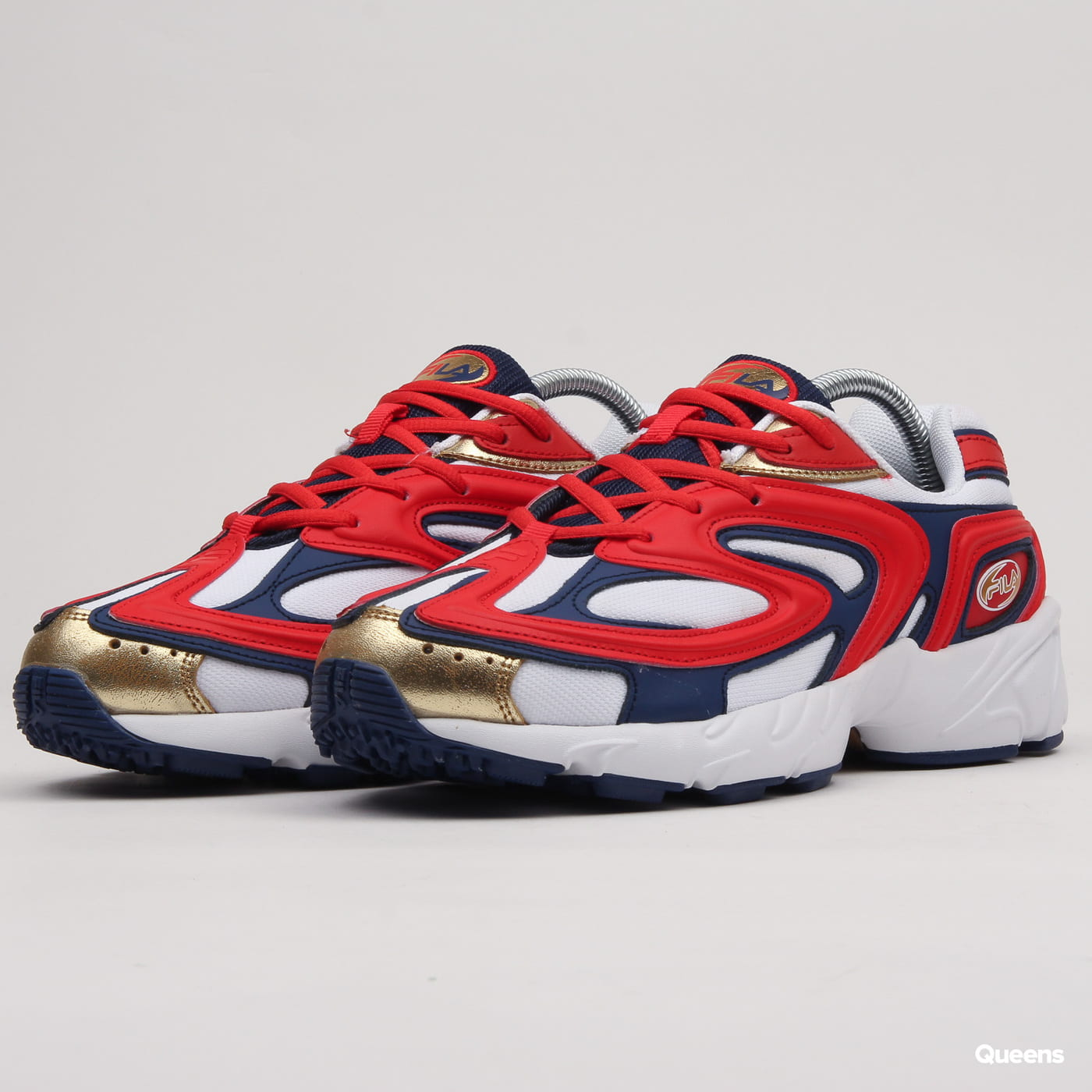 25dd07ac687 Sneakers Fila Creator fiery red / white / estate blue (1RM00614 40N) –  Queens 💚