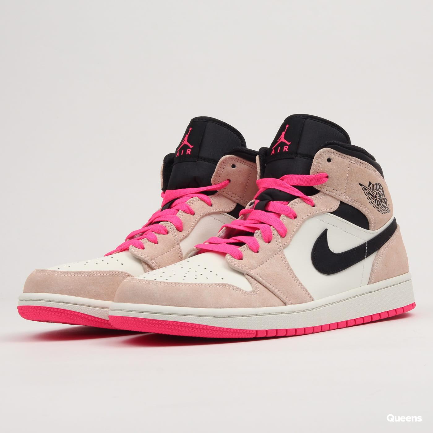 fa51da7e72d Sneakers Jordan Air Jordan 1 Mid SE crimson tint / hyper pink - black  (852542-801) – Queens 💚