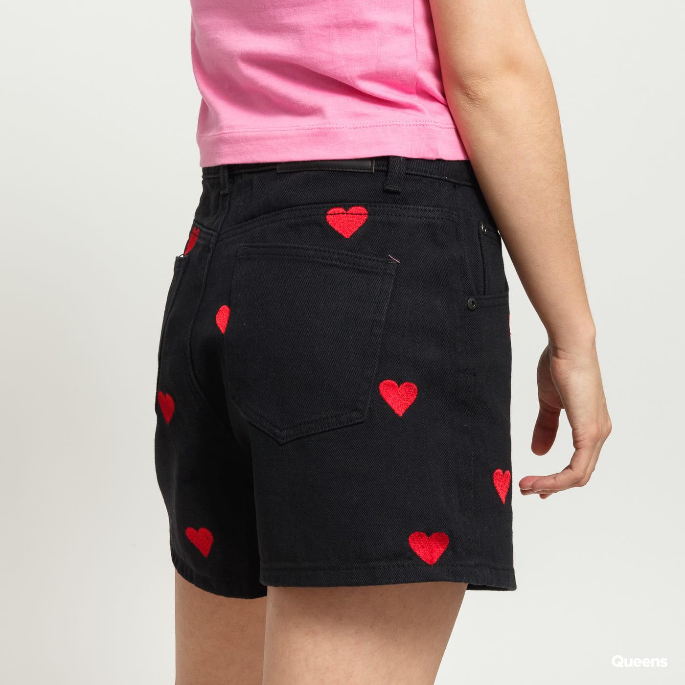 LAZY OAF Love Shorts black