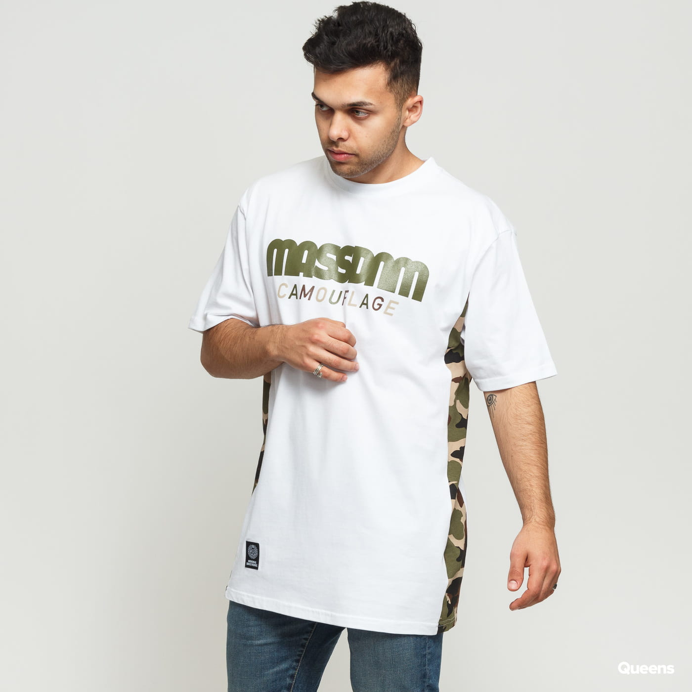 Mass DNM Shelter Tee blue / turquoise