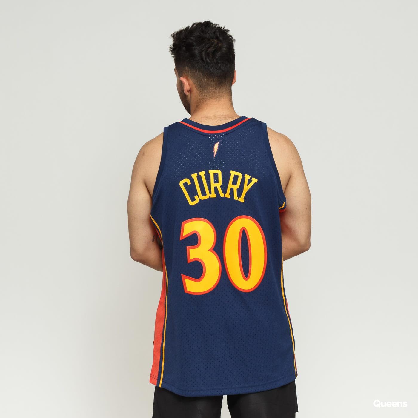 brand new 26ce5 0a490 Mitchell & Ness NBA Swingman Jersey Golden State Warriors Stephen Curry nava