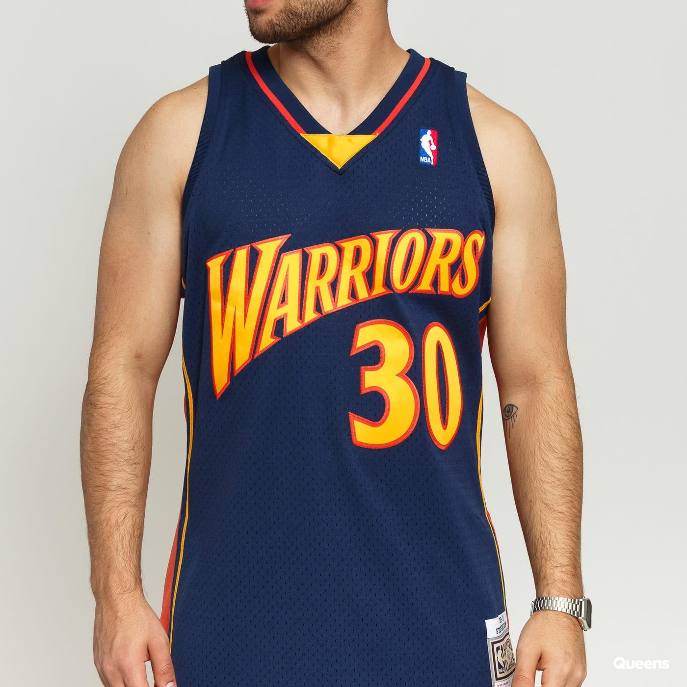 Mitchell & Ness NBA Swingman Jersey Golden State Warriors Stephen Curry #30 nava