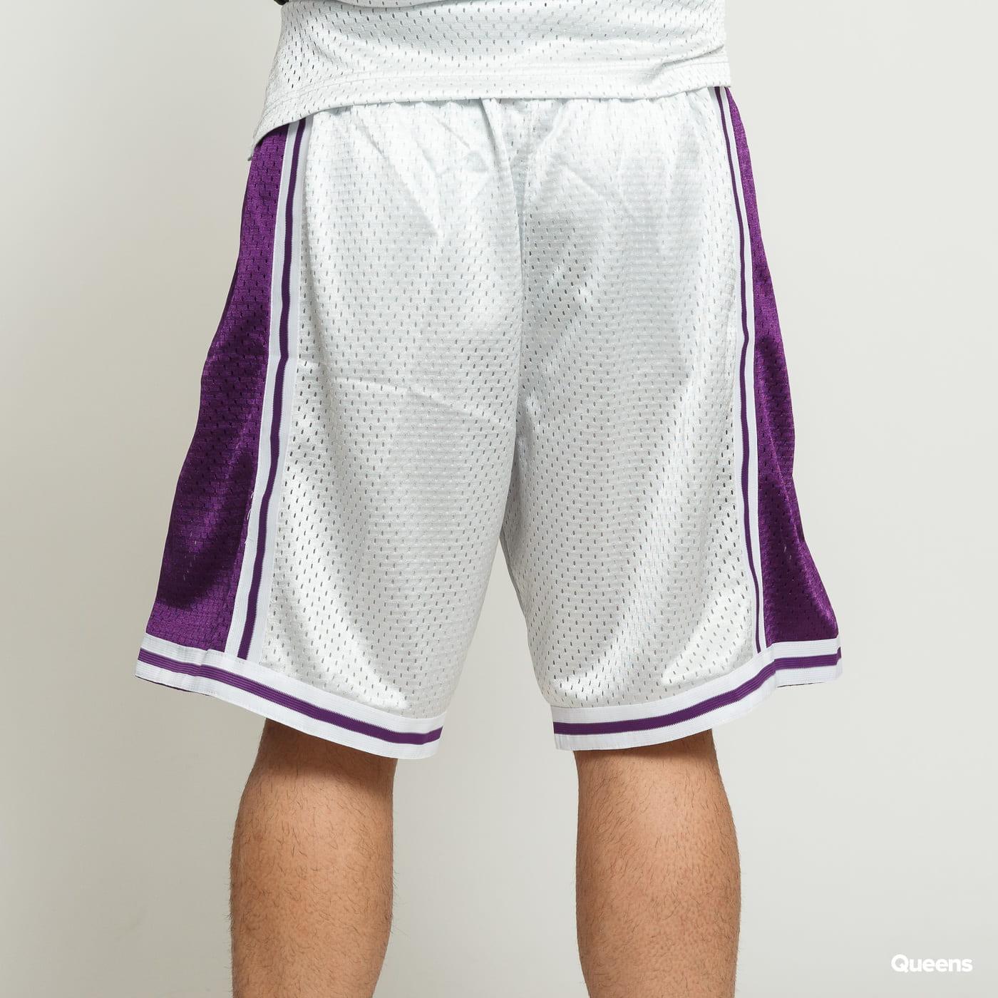 Mitchell & Ness NBA Swingman Shorts LA Lakers silver