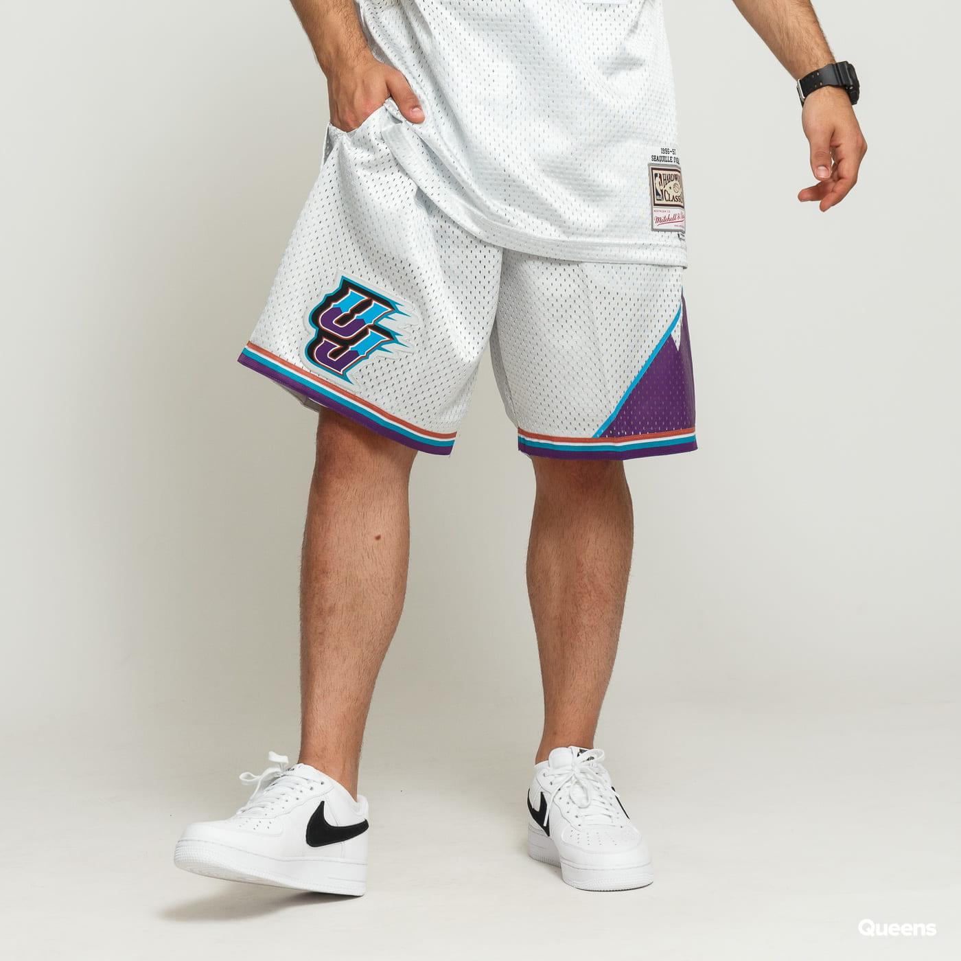 online store 0717b 8f918 Mitchell & Ness NBA Swingman Shorts Utah Jazz silver