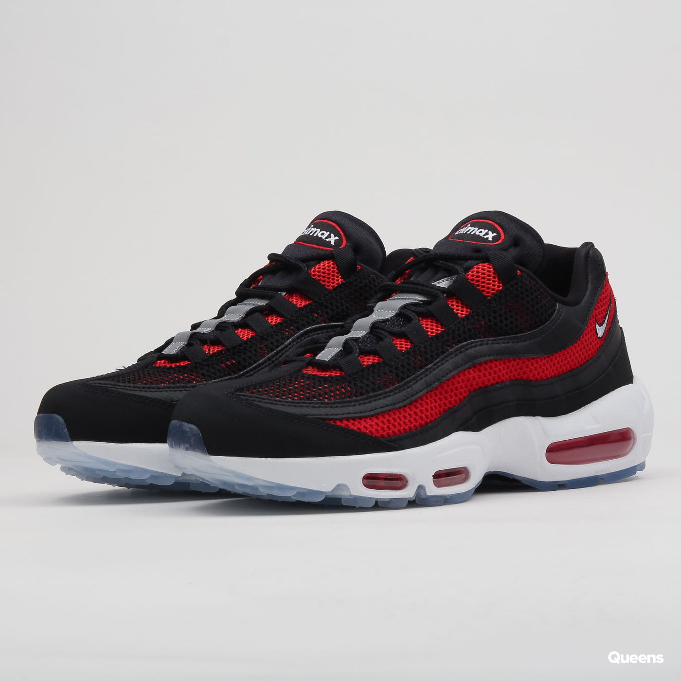 huge inventory pretty cheap cheap Nike Air Max 95 Essential black / white - university red