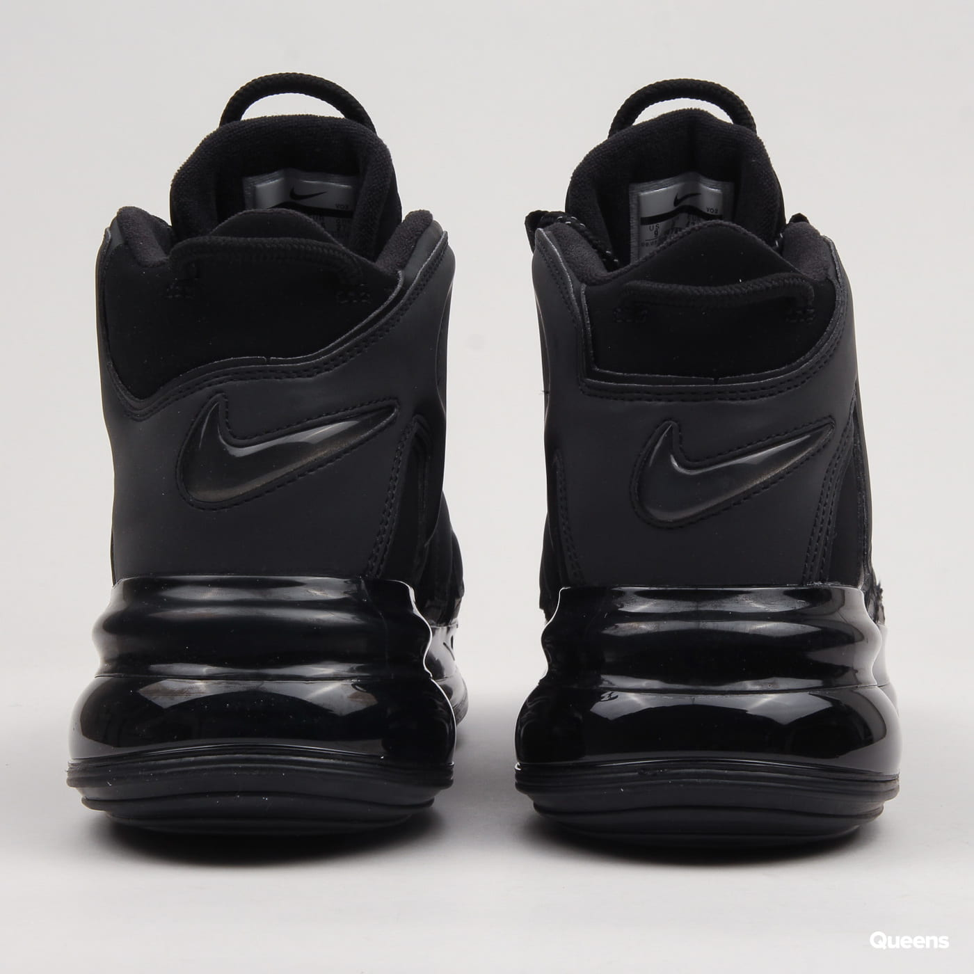 huge selection of ccb06 98a44 Zoom in Zoom in Zoom in Zoom in Zoom in. Nike Air More Uptempo 720 QS 1  black   metallic ...