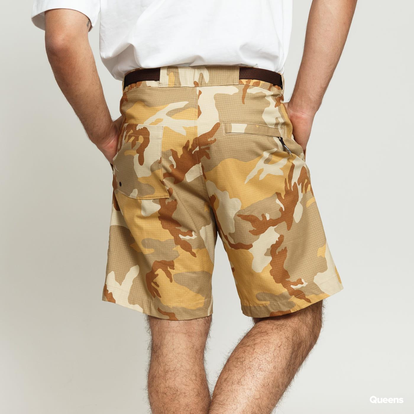 Nike M NK SB Short Rip Erdl camo brown / beige