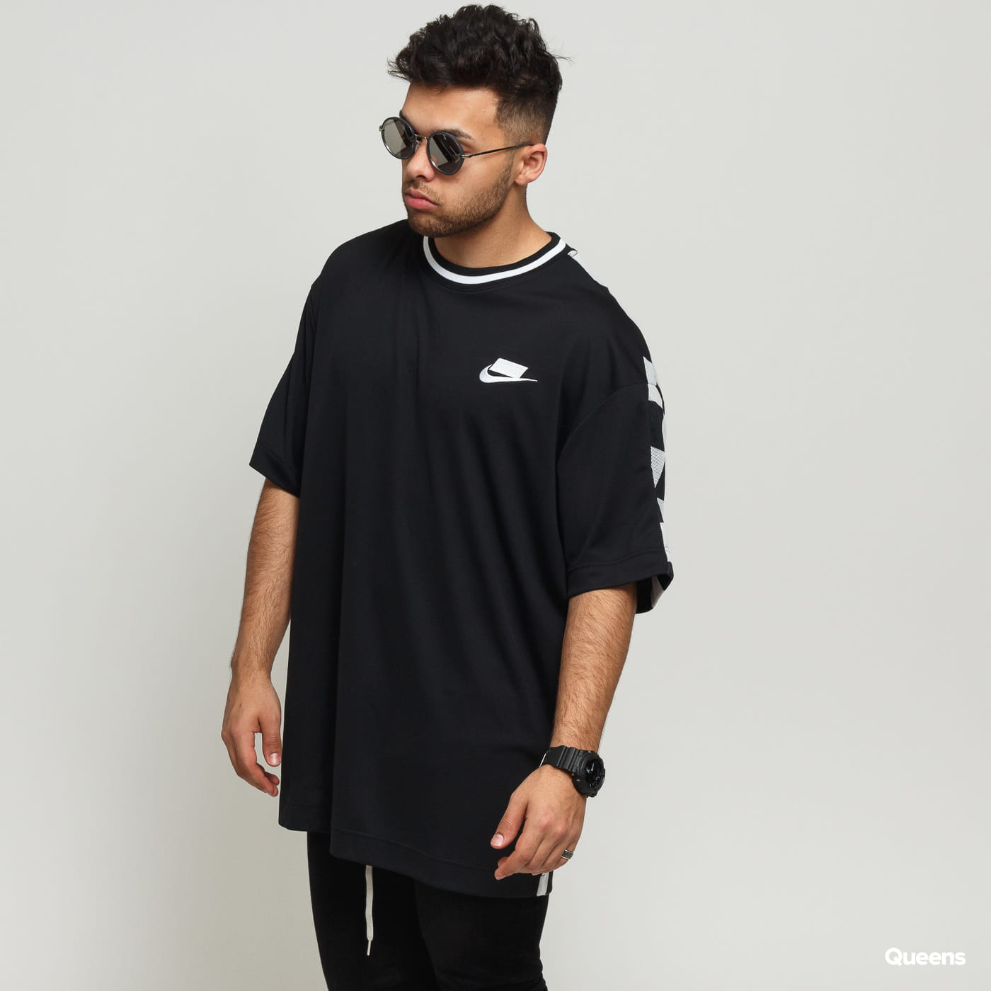 3e75ed263a42 Short Sleeve T-Shirts Nike M NSW NSP Top SS Check black (AR1634-010) –  Queens 💚