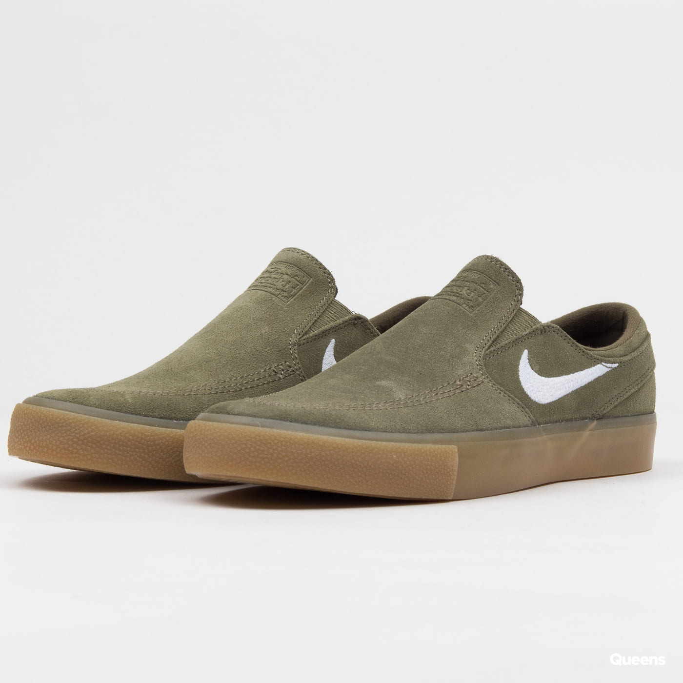 d47de88bfcd63 Obuv Nike SB Zoom Janoski Slip RM medium olive / white (AT8899-200) –  Queens 💚
