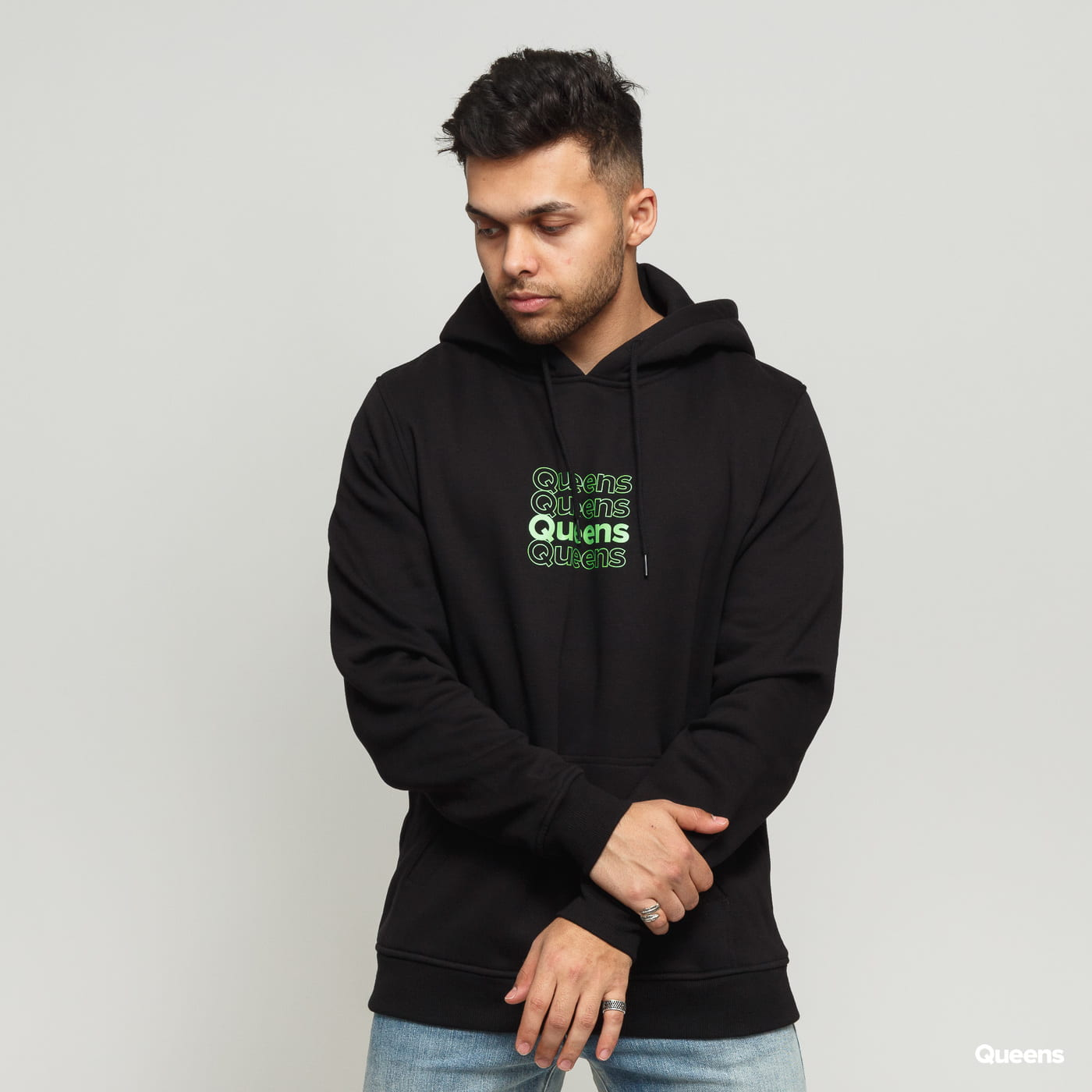 Queens Matrix Hoodie black