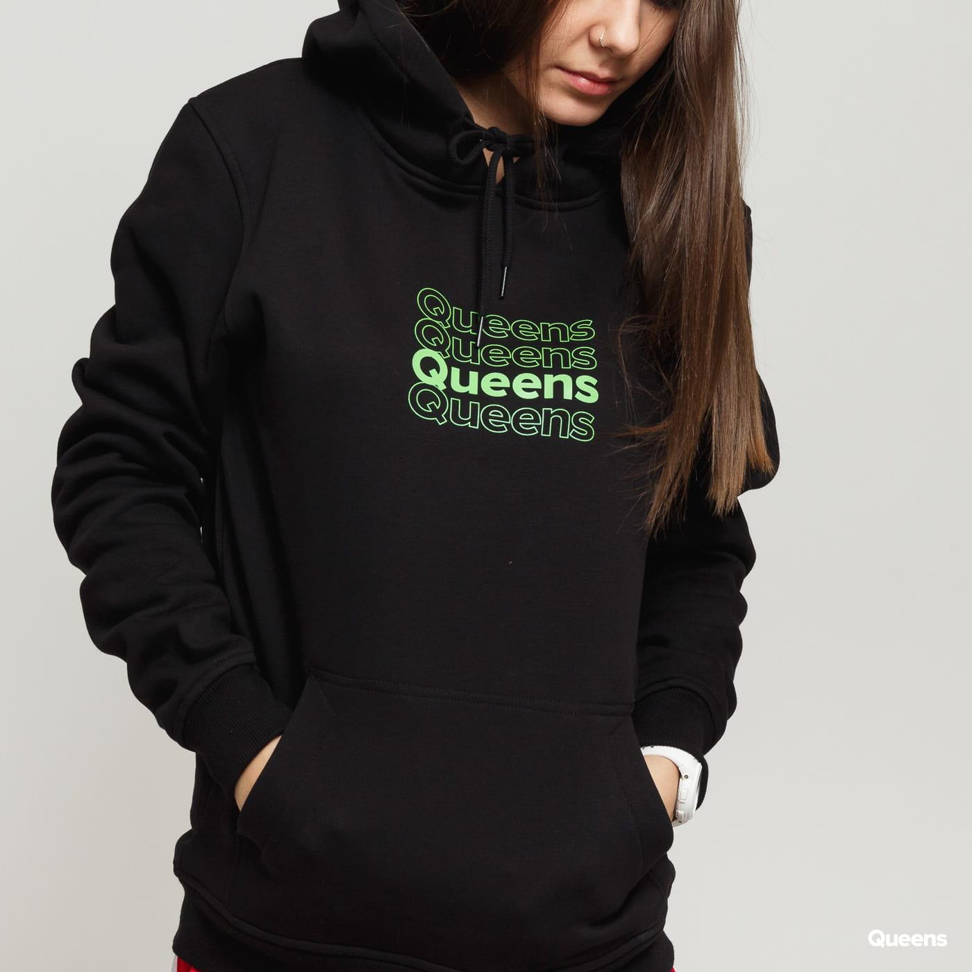 Queens Matrix Hoodie čierna