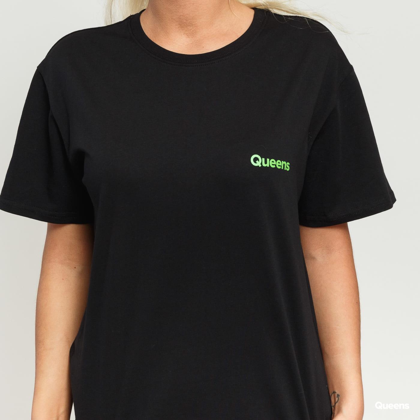 Queens Runners Tee čierne