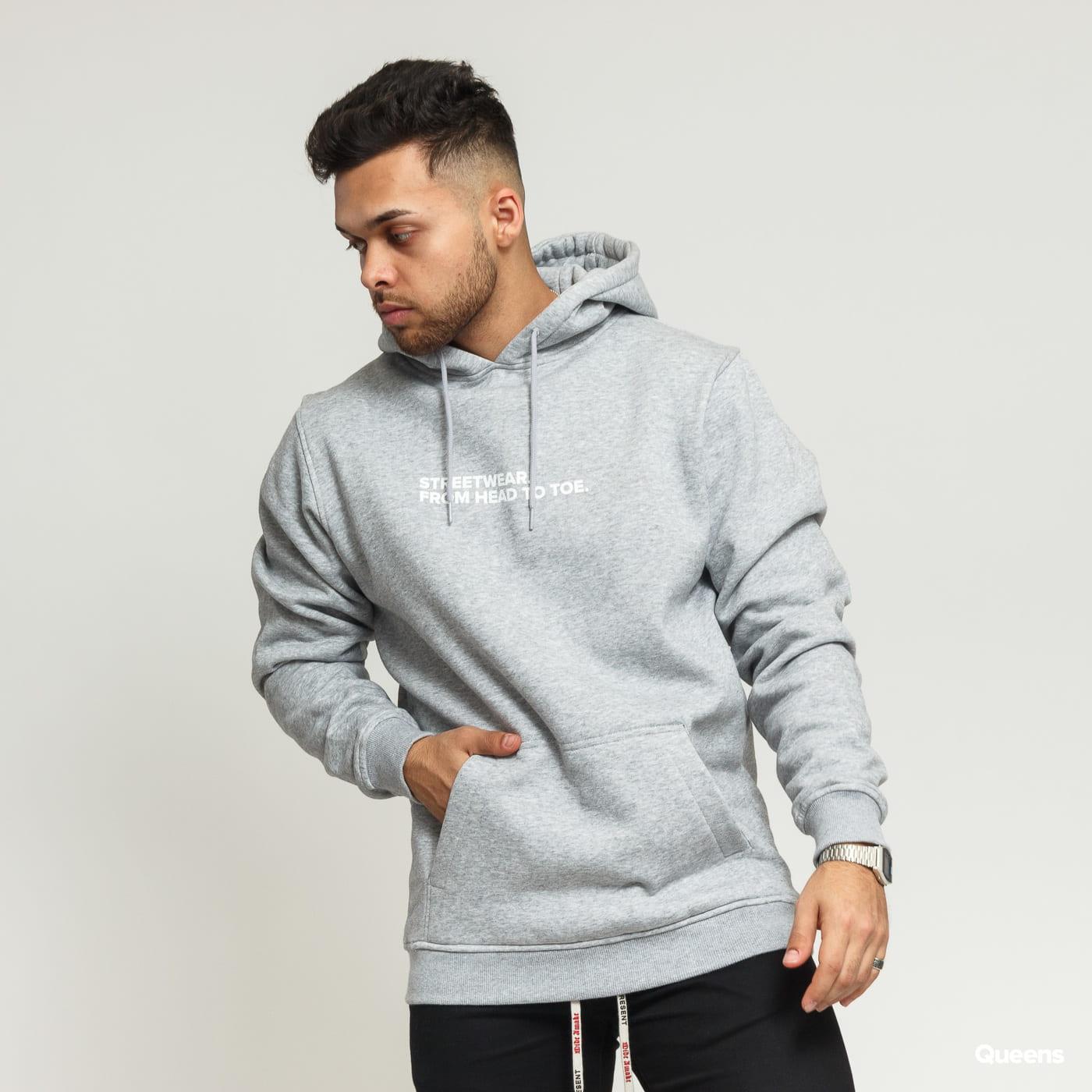 competitive price 45e3d 6926b Queens Streetwear Hoodie melange gray