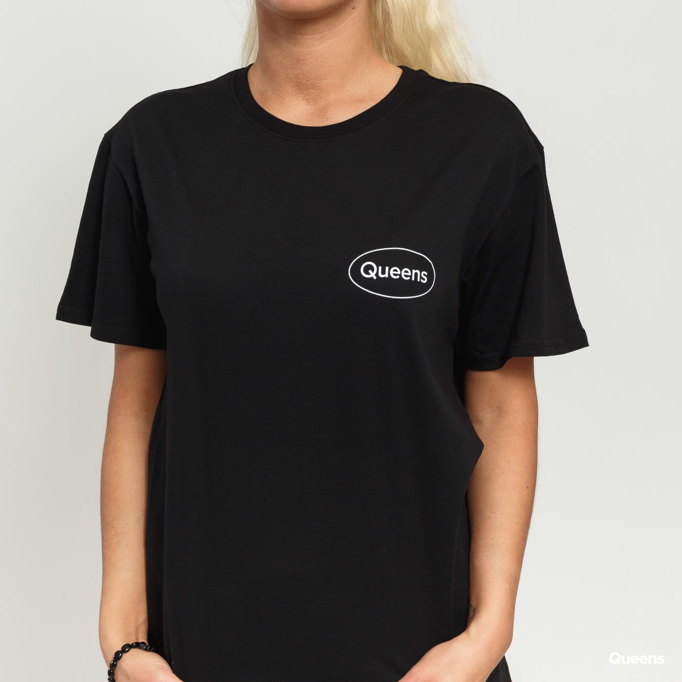 Queens Workwear Logo Tee čierne
