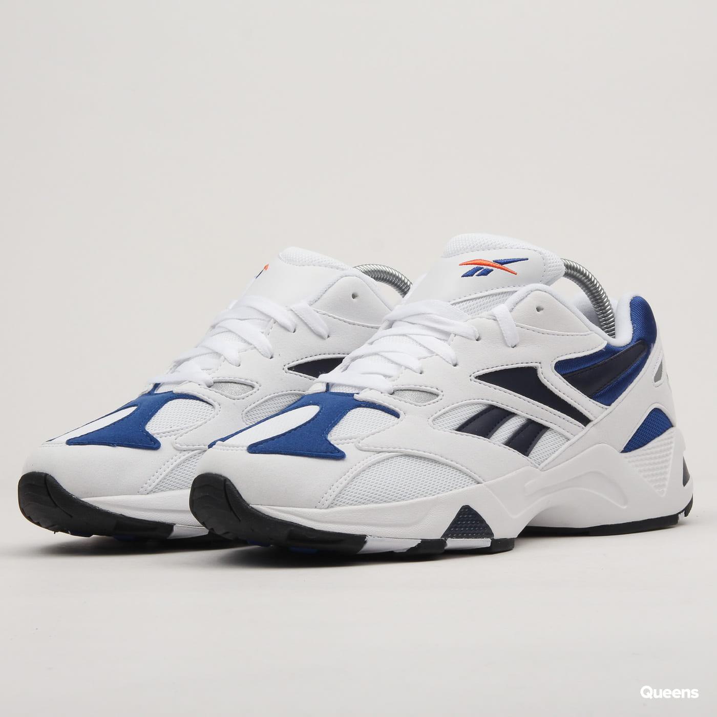 3cd16778b01 Sneakers Reebok Aztrek 96 white / royal / fiery orange (DV6756) – Queens 💚